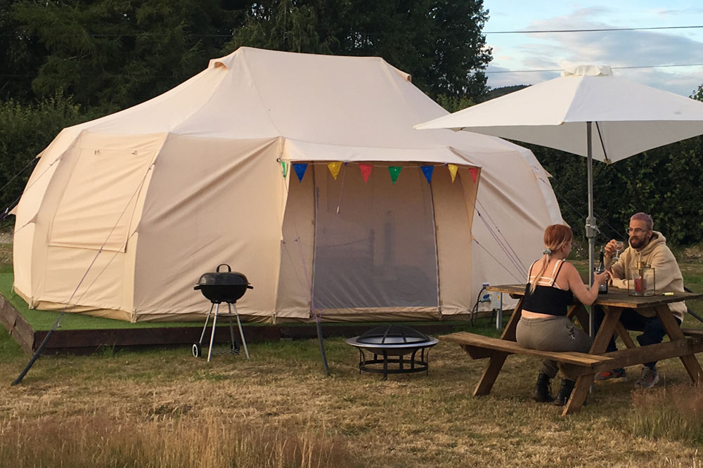 Glamping Holidays in Kent